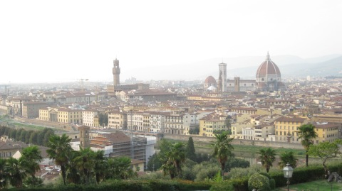Florence, Italy, where good food abounds.