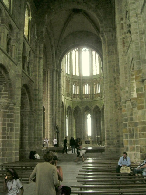 abbey at Mont-St-Michel